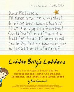 Bill Geerhart Little Billy's Letters