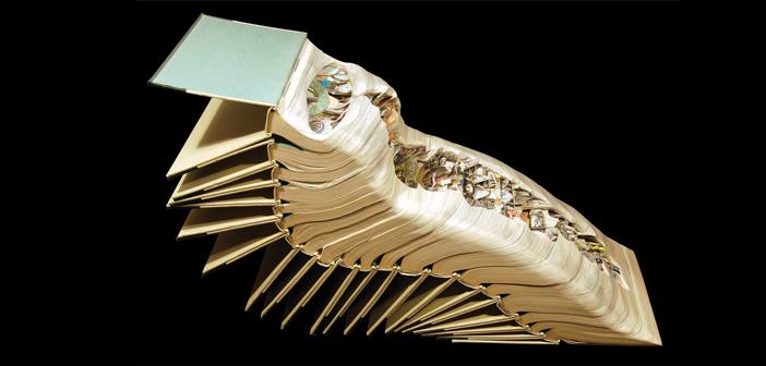 Брайан Деттмер: скульптуры из книг
