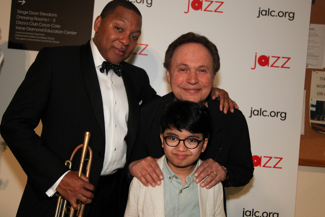 Joey Alexander, Billy Crystal, Wynton Marsalis